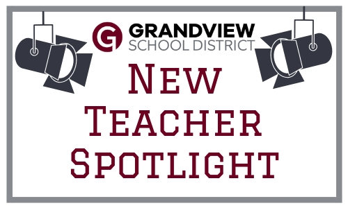 New Teacher Spotlight graphic.