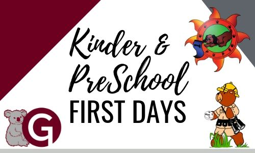 Kinder first day