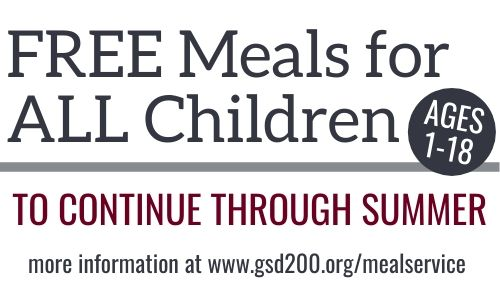 Summer Meal Service to run all summer.