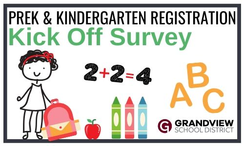 Kinder/Prek Survey is first step to registering for 2020-21 school year