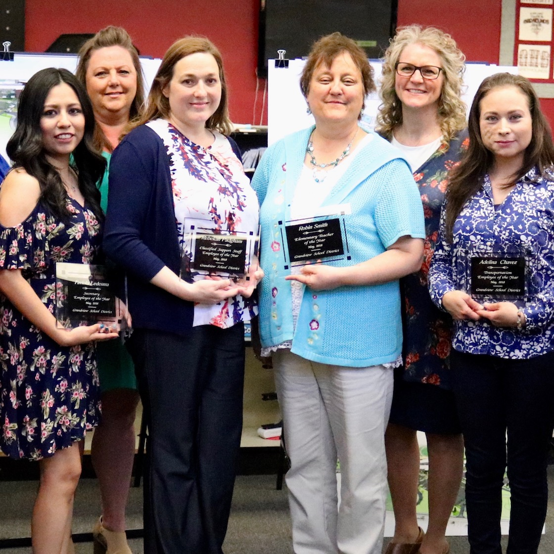 2018 GSD Employees of the Year honored