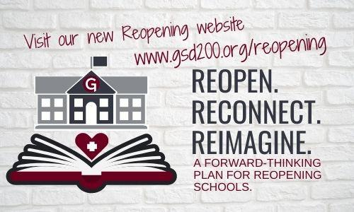 School board approves reopening plan - new reopening website launches