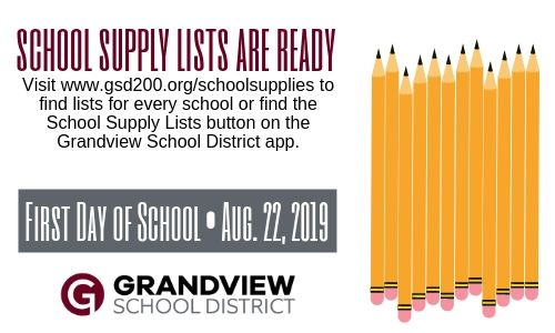 School supply lists are here