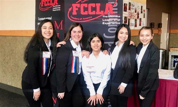 FCCLA takes third place at state.