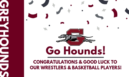 Congratulations Greyhounds!